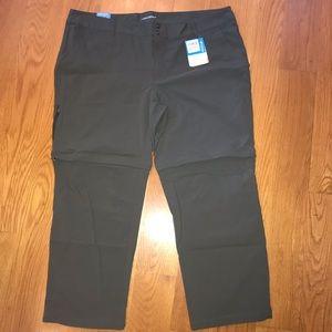Columbia convertible pants to shorts Saturday II